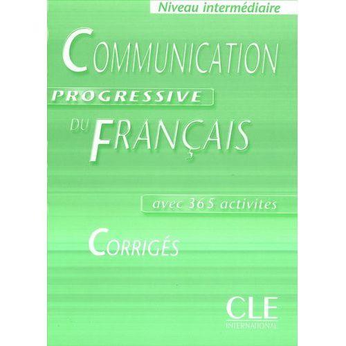 Książki do nauki języka, Communication Progressive du francais Intermediaire Corriges (opr. miękka)