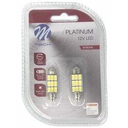 Żarówka C5W M-TECH Platinum 12V 2,8W 6000K SV8,5 TULB815W