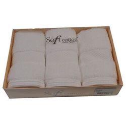 Zestaw podarunkowy małych ręczników DELUXE Biały