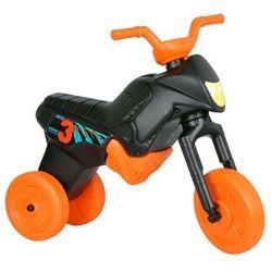 Rowerek biegowy dziecięcy Enduro Maxi - Kolor Czarny/pomarańczowy
