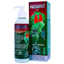 GorVita Pneumovit żel do wcierań inhalacji na zatkany nos zatoki katar ułatwia oddychanie - olejki