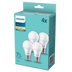 Żarówka LED Philips A60 E27 1055 lm 2700 K 4 szt.
