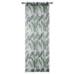 Firana na szelkach EXOTICO 140 x 245 cm zielona