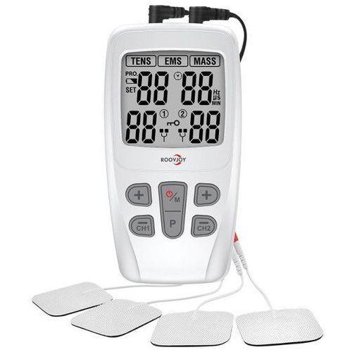 Pozostałe artykuły medyczne, Domowy aparat do elektrostymulacji RoovJoy R-C4D prądy TENS/EMS