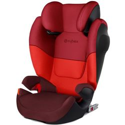 CYBEX fotelik samochodowy Solution M-Fix SILVER, Rumba Red - BEZPŁATNY ODBIÓR: WROCŁAW!