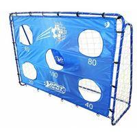 Piłka nożna, BRAMKA PIŁKARSKA BestSporting 213 X 152 X 76 cm z matą celnościową