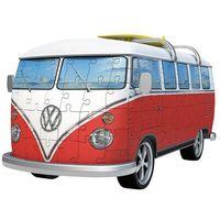 Puzzle, Puzzle 3D Volkswagen Bus T1 162 elementów 125166 - Ravensburger