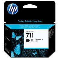Tonery i bębny, HP oryginalny ink CZ133A, No.711, black, 80ml, HP DesignJet T120, T520