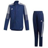 Pozostała odzież sportowa, Dres treningowy adidas Tiro 21 Junior GK9662 + GK9666