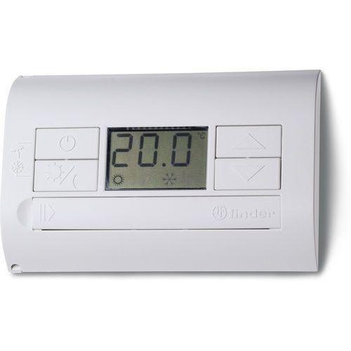 Pozostałe ogrzewanie, Termostat elektroniczny tytanowy – metaliczny, wyświetlacz LCD dzień/noc, lato/zima 1P 5A 230V 1T.31.9.003.2200