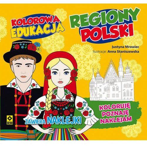 Książki dla dzieci, Kolorowa edukacja - Regiony Polski