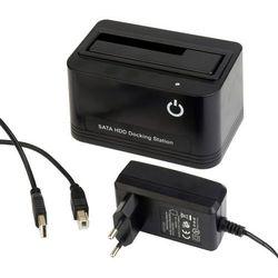 Stacja/replikator Gembird STACJA DOKUJĄCA HDD GEMBIRD HD32-U2S SATA 2.5+3.5HDD USB2.0 + ZASILACZ - HD32-U2S-4 Darmowy odbiór w 21 miastach!