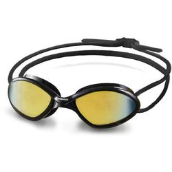 Head Tiger Race Mid Okulary pływackie Mirrored czarny 2018 Okulary do pływania