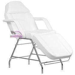 Fotel kosmetyczny z otworem w zagłówku