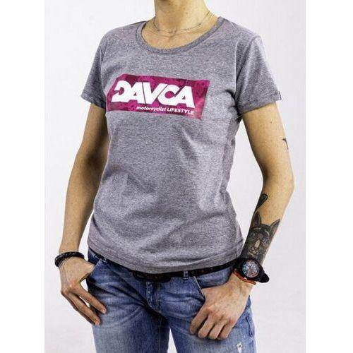 Pozostałe akcesoria do motocykli, Davca t-shirt codzienny pink skulls