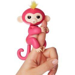 WowWee Pacynka Fingerlings - Małpka Bella, różowy