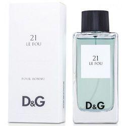 Dolce & Gabbana 21 Le Fou, Woda toaletowa – Tester, 100ml