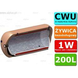 ERMET 200l poziomy dwupłaszczowy bojler do CWU - podgrzewacz wymiennik bezobsługowy - WYSYŁKA GRATIS