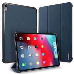 DUX DUCIS Domo składany pokrowiec etui na tablet z funkcją Smart Sleep podstawka Apple iPad Pro 12.9 2018 niebieski - Niebieski