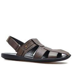 Sandały Krisbut 1194-2-1 Brązowe lico
