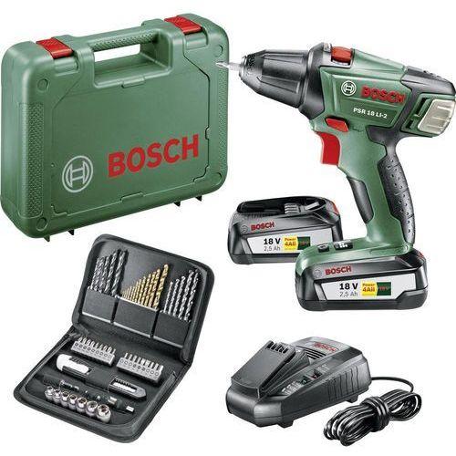 Wiertarko-wkrętarki, Bosch PSR 18 LI-2