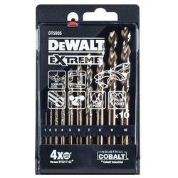 Wiertła kobaltowe DeWalt 10 szt.