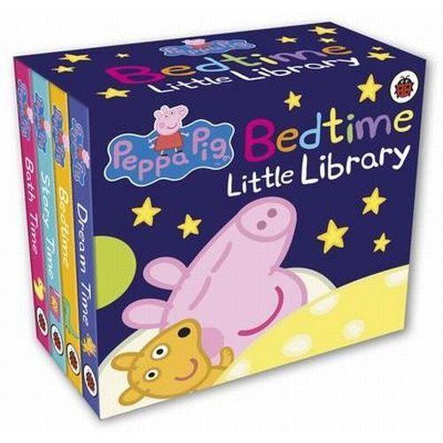 Książki dla dzieci, Peppa Pig Bedtime Little Library - Ladybird (opr. twarda)