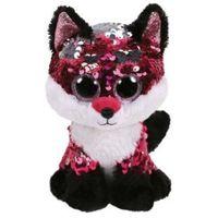 Pluszaki zwierzątka, Maskotka TY INC Beanie Boos Flippables Jewel - lis z cekinami 28 cm