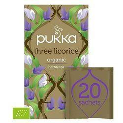 smakeup.pl Three Licorice organiczna herbatka lukrecjowa 20 torebek