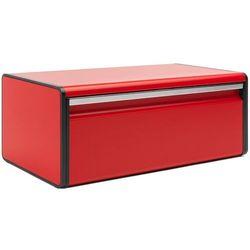 Pojemnik na pieczywo Brabantia prostokątny czerwony Passion