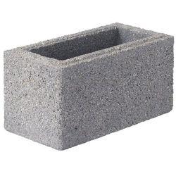 Bloczek betonowy Joniec 20 x 40 x 20 cm stalowy