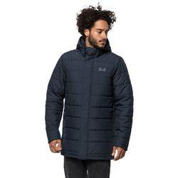 Płaszcz puchowy męski SVALBARD COAT MEN night blue - S