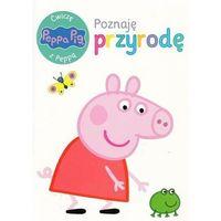 Książki dla dzieci, Świnka Peppa. Ćwiczę z Peppą. Poznaję przyrodę - Praca zbiorowa (opr. broszurowa)