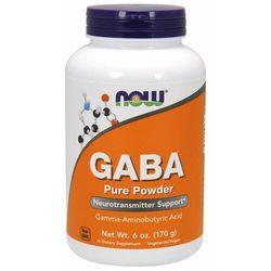 NOW Foods Czysta GABA w proszku 170 g