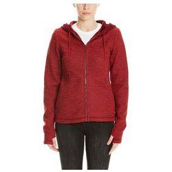 bluza BENCH - Bonded Short Velvet Jacket Cabernet (RD11343)