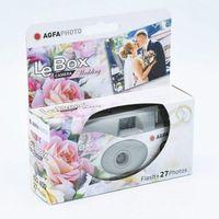 Aparaty analogowe, AGFA Aparat Jednorazowy 400/27 Wedding z lampą