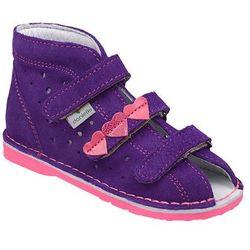 Kapcie profilaktyczne buty DANIELKI TA125 TA135 Fiolet Fuksja - Fioletowy ||Fuksja ||Multikolor