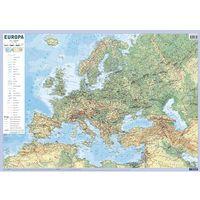 Przewodniki turystyczne, Europa mapa fizyczno-polityczna ścienna - Demart