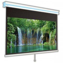 Ekran ręcznie rozwijany Avers Cirrus X 180x102cm, 16:9, White Ice