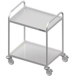 Wózek kelnerski dwupółkowy STALGAST 800x500x950mm 982025080