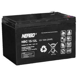 Akumulator AGM NERBO NBC 15-12L (12V 15Ah)