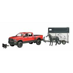 Bruder Dodge Pick-up z przyczepą dla konia RAM 2500, skala 1:16, 02501