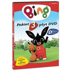 BING. PAKIET 3 PŁYT DVD: HUŚTAWKA, KOT, FAJERWERKI (3 DVD) (Płyta DVD)