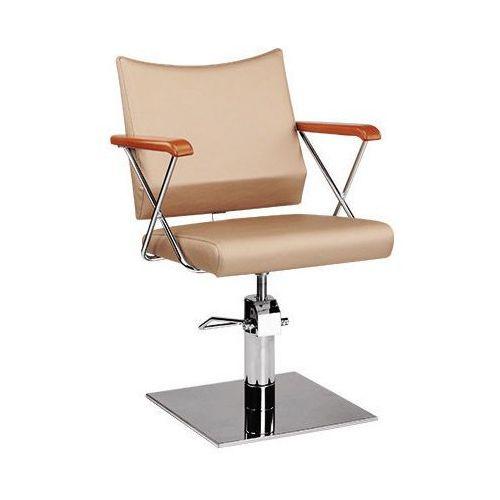 Meble fryzjerskie, Ayala Roma 01 fotel fryzjerski na pompie hydraulicznej z możliwością wyboru podstawy