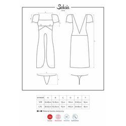 Sedusia suknia i stringi S/M