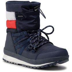 Śniegowce TOMMY HILFIGER - Technical Bootie T3B6-30970-0328Y019 S Blue/Red/White Y019