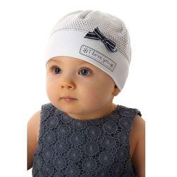 Czapka niemowlęca 100% bawełna 5X34C7 Oferta ważna tylko do 2019-06-26