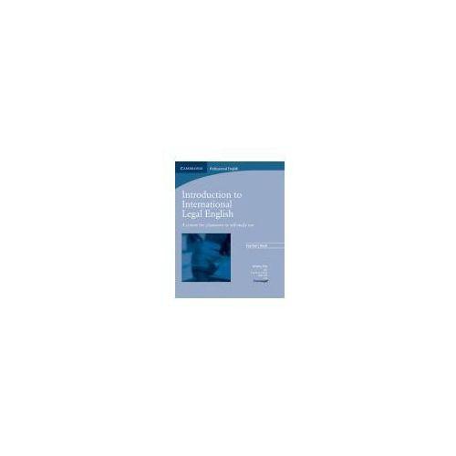 Książki do nauki języka, Introduction to International Legal English Teacher's Book (książka nauczyciela) (opr. miękka)