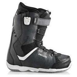 buty snowboardowe damskie DEELUXE - Alpha TF Black/Grey (3936)