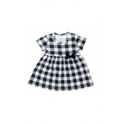 Sukienka niemowlęca z kratkę 6K40AM Oferta ważna tylko do 2031-03-03